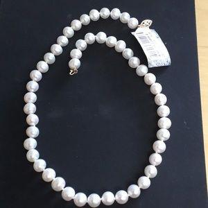 "Belle de Mer Freshwater Pearl Necklace 16"" 7-8mm"